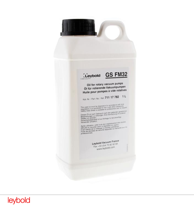 LEYBOLD Vacuum pump oil GS FM 32 - 71117782
