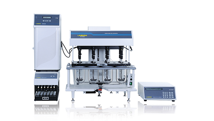 Tablet Dissolution System DS 8000 with Piston Pump